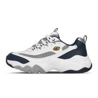 Skechers 老爹鞋 D Lites 3.0 Merriton 白 深藍 黃灰 男鞋【ACS】 52684-WNVG