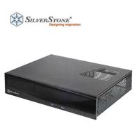 SilverStone 銀欣 ML03 平躺式 USB 3.0 Micro-ATX 電腦機殼 黑色 SST-ML03B