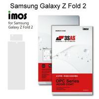 【iMos】3SAS系列保護貼 Samsung Galaxy Z Fold 2 (7.6吋) 外螢幕 超潑水、防污、抗刮