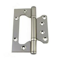 A067 2入裝 不鏽鋼鉸鍊 4英吋304 4寸子母白鐵合頁 折角後鈕(櫃門後鈕 蝶番鉸鏈)