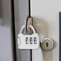 3หลักรหัสรหัสผ่านล็อคแบบพกพา Mini สังกะสีกระเป๋าถือกระเป๋าเดินทางล็อคกระเป๋าเป้สะพายหลังกุ...