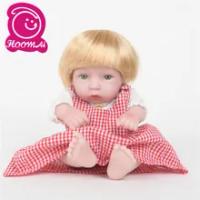 "Fashion 25 Cm Bayi Lucu BEBE Reborn Boneka Manusia Hidup Mini Full Vinyl Body Silikon 10 ""Baru Lahir Boneka Anak-anak Natal hadiah Kejutan"