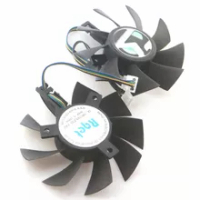 DC Brushiless Fan DC12V 75mm For MAXSUN RX570 4G Graphics Card Cooling Fan
