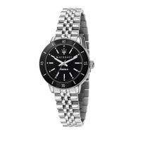 刷卡滿3千回饋5%點數|MASERATI 瑪莎拉蒂 SUCCESSO LADY 光動能經典質感腕錶32mm(R8853145506)