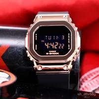 卡西歐G-SHOCK金屬小方塊防水手錶GM-S5600-1/S5600PG-4/SK/SK-7 kuPi