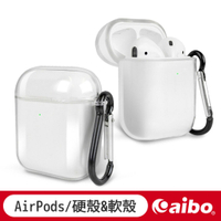 AirPods藍牙耳機專用 高清透明保護套  AirPods 1代2代適用 保護套 耳機 透明 清水套 【現貨 福利品】