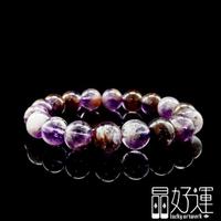 【晶好運】喜招貴人11mm紫鈦晶手珠(BB-131/現貨)