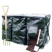 🌸廠家廚餘堆肥袋發酵酵素桶園藝落葉袋有機肥蚯蚓箱積肥桶15-150升