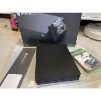 (買到賺到)9.9成新 XBOX ONE X ITB 盒裝公司貨 原廠手把X2 遊戲片X2