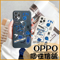信鴿圖騰|OPPO Reno5 5G Reno 5 Pro Reno 5Z 潮牌ins信鴿標籤 經典直邊 掛繩孔 防摔 保護套 手機殼
