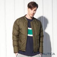 【NAUTICA】極保暖防寒輕羽絨外套(墨綠)