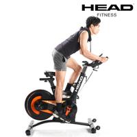 【HEAD】H796 後驅磁控飛輪車(20KG鑄鐵飛輪/6顆強力磁石)