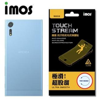 【iMOS Touch Stream】Sony Xperia XZS(電競 霧面 背面保護貼)