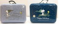 大賀屋 正版 史努比 鐵盒 收納盒 收納鐵盒 手提盒 收納箱 飾品盒 珠寶箱 箱子 SNOOPY T00120712