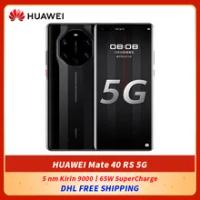 DHL ฟรี HUAWEI Mate 40฿5G สมาร์ทโฟน6.76นิ้ว88 ° หน้าจอโค้ง5 Nm Kirin 9000 octa Core 65W SuperCharge NFC โทรศัพท์