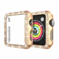 2019เพชรสำหรับApple Watch Case Band 40มม.44มม.38 42Mm ProctiveกันชนสำหรับIwatch series SE 6 5 4 3 2 1
