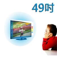 【台灣製~護視長】49吋 抗藍光液晶螢幕 電視護目鏡(SONY A款 49X9000E)