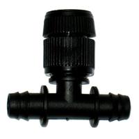 【灑水達人】可調整冒水頭16mm雙通接頭6個