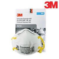 3M N95 拋棄式防塵口罩 8210系列, 盒裝版,(工業用頭帶式) 【傑群工業補給站】