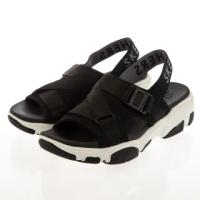 【SKECHERS】女 休閒系列涼拖鞋 DADDY-O(163051BLK)