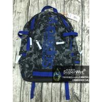 跩狗嚴選 極度乾燥 Superdry Backpack Bag 後背包 筆電包 背包 運動輕量網眼 黑藍 迷彩