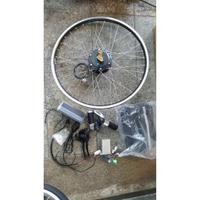 電動車改裝套件~~自行車升級為電動車~350W36V(可搭配鉛酸電池/磷酸鐵鋰電池/鋰鐵電池電動自行車