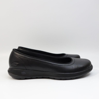 SKECHERS GO WALK LITE 女生鞋 16371BBK 休閒鞋 空姐 櫃姐 包頭鞋 娃娃鞋