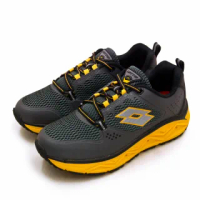 【LOTTO】男 專業郊山戶外透氣越野跑鞋 AEROVE系列(灰黑黃 3008)