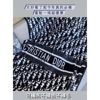 迪奧Dior金貂絨多功能毛毯 專櫃禮盒 毛毯 車用毯