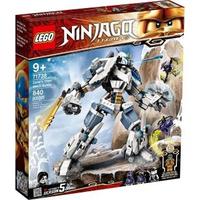 【LEGO 樂高】《 LT71738 》 NINJAGO 旋風忍者系列 - 冰忍的鈦機械人之戰(71738)