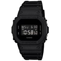 【CASIO 卡西歐】G-SHOCK 經典個性霧面數位休閒錶(DW-5600BB-1)
