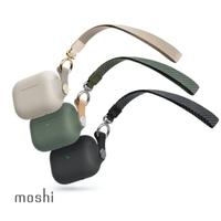 【moshi】AirPods Pro Pebbo 藍牙耳機充電盒保護套