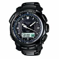 刷卡滿3千回饋5%點數|CASIO Pro Trek 太陽能電波運動腕錶/PRW-5100YT-1
