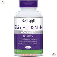美國 加拿大 Natrol 皮膚 頭髮 指甲 美容 Biotin 5000mcg 60粒