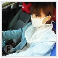 蕾絲防曬面罩 透氣蕾絲防曬護頸口罩 紫外線護頸面罩 騎士面罩 機車口罩 防風面罩