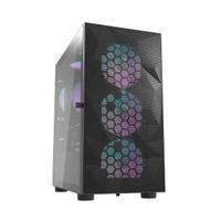 【darkFlash】DLM21 Mesh M-ATX 電腦機殼.機箱 網孔版-黑(DF01-0048)
