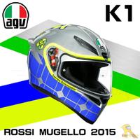 任我行騎士部品 AGV K1 全罩 安全帽 單鏡片 輕量化 通風 ROSSI MUGELLO 2015