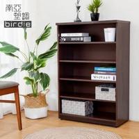【南亞塑鋼】2.2尺開放式五格收納櫃/置物櫃/鞋櫃(胡桃色)