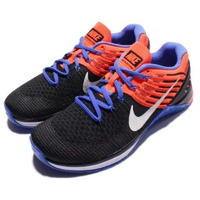 【NIKE 耐吉】Wmns Metcon DSX 運動 女鞋 訓練鞋 Flyknit 多功能 黑 藍 橘(849809-002)
