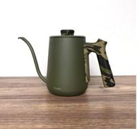 金時代書香咖啡 Minos  有蓋手沖壺 600ml 綠木紋色 Minos-POC-600-CPOG