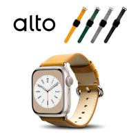 【Alto】Apple Watch 皮革錶帶 40/38mm - 焦糖棕(真皮錶帶)