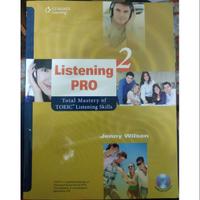 Listening pro2 大學用書 英文聽力 (附CD 2片)