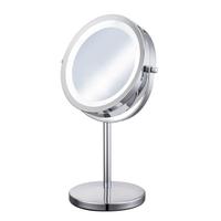4253 360度LED雙面立式化妝鏡 美容鏡 梳妝立式桌鏡 雙面鏡