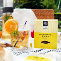 【samova 歐洲時尚茶飲】有機蘋果花茶/水果茶/無咖啡因/Garden Party 花園派對(Space系列)