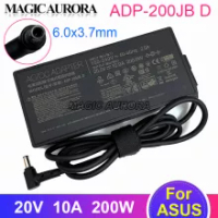 Original For ASUS 20V 10A AC Adapter Charger ADP-200JB D for ASUS TUF DASH F15 FX516PR FA506QR ROG ZEPHYRUS G15 GA503QM-HQ121R
