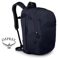 【Osprey 美國】NOVA 32 電腦背包 15吋筆電背包 城市背包 旅行背包 女款 漿果紫 (Nova32)