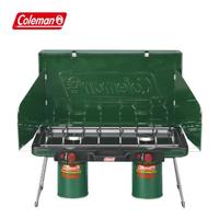 【Coleman】瓦斯雙口爐 / 綠色(CM-6707JM000)