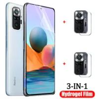 hydrogel film for redmi note10 pro soft glass note 10s/10pro xiaomi redmi note10 5g screen protector redmi note 10 pro hidrogel