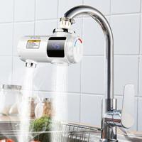 電熱水龍頭 TCL電熱水龍頭免安裝速熱家用即熱式加熱接駁式廚寶小型熱水器 小明同學