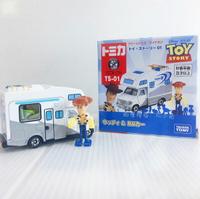 【Fun心玩】DS13407 麗嬰 夢幻 TOMICA 多美小汽車 Dream TS-01 胡迪&遙控車 聖誕 生日 禮物